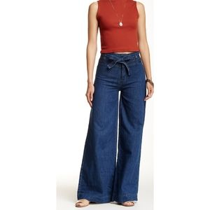 Free people Augusta wide leg jeans